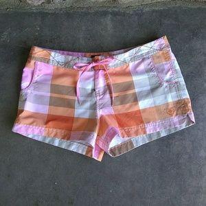 Roxy Pink and Orange Board Shorts